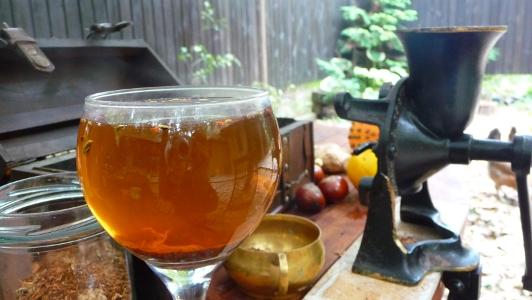 składniki przyprawy do pierników pięknie pachną i można zrobić z nich herbatkę