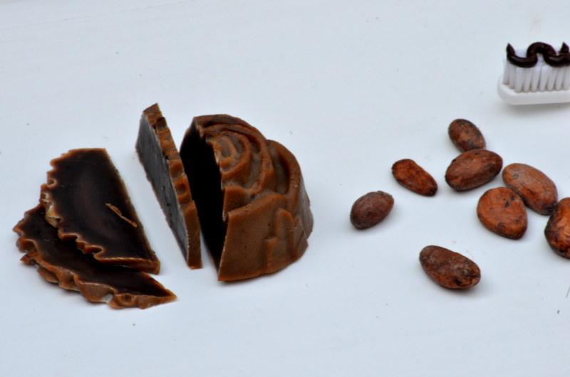 czekoladowa pasta do zębów