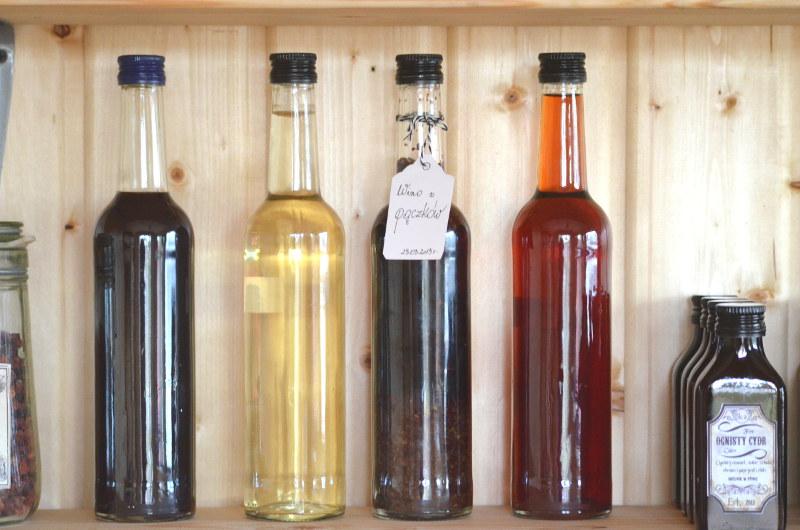 pączki w winie - butelki