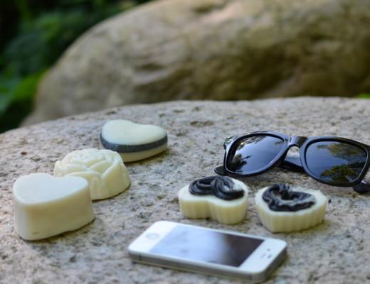 mydła z lassu okulary na kamieniu
